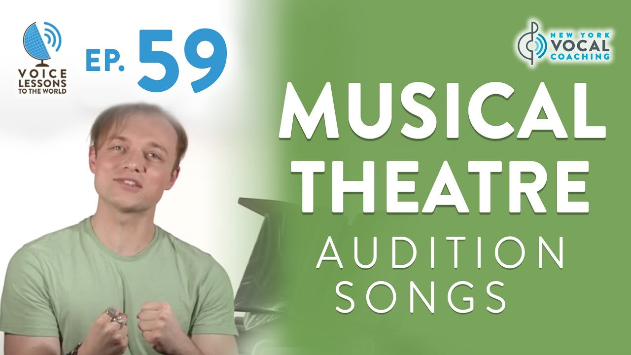 """Ep. 59 """"Musical Theatre Audition Songs"""" Cover"""