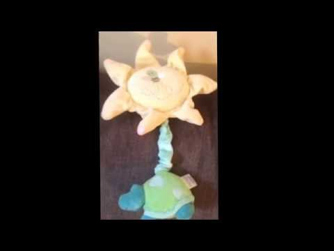 Carters turtle musical crib toy