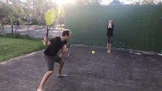 Tennis Ball Destruction!