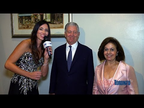 Exclusive interview with The Royal Family of Serbia during Lifeline Canada fundraiser in Toronto