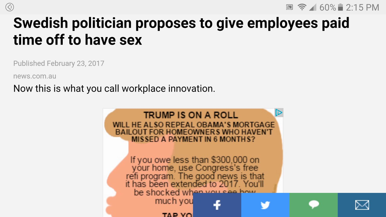 People paid to have sex