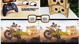 PUBG Mobile in VR cardboard