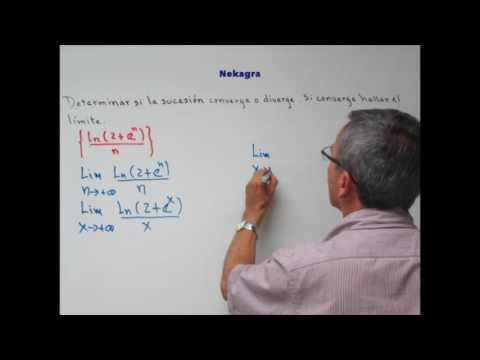 Convergencia y divergencia de sucesiones (5) por Nekagra.