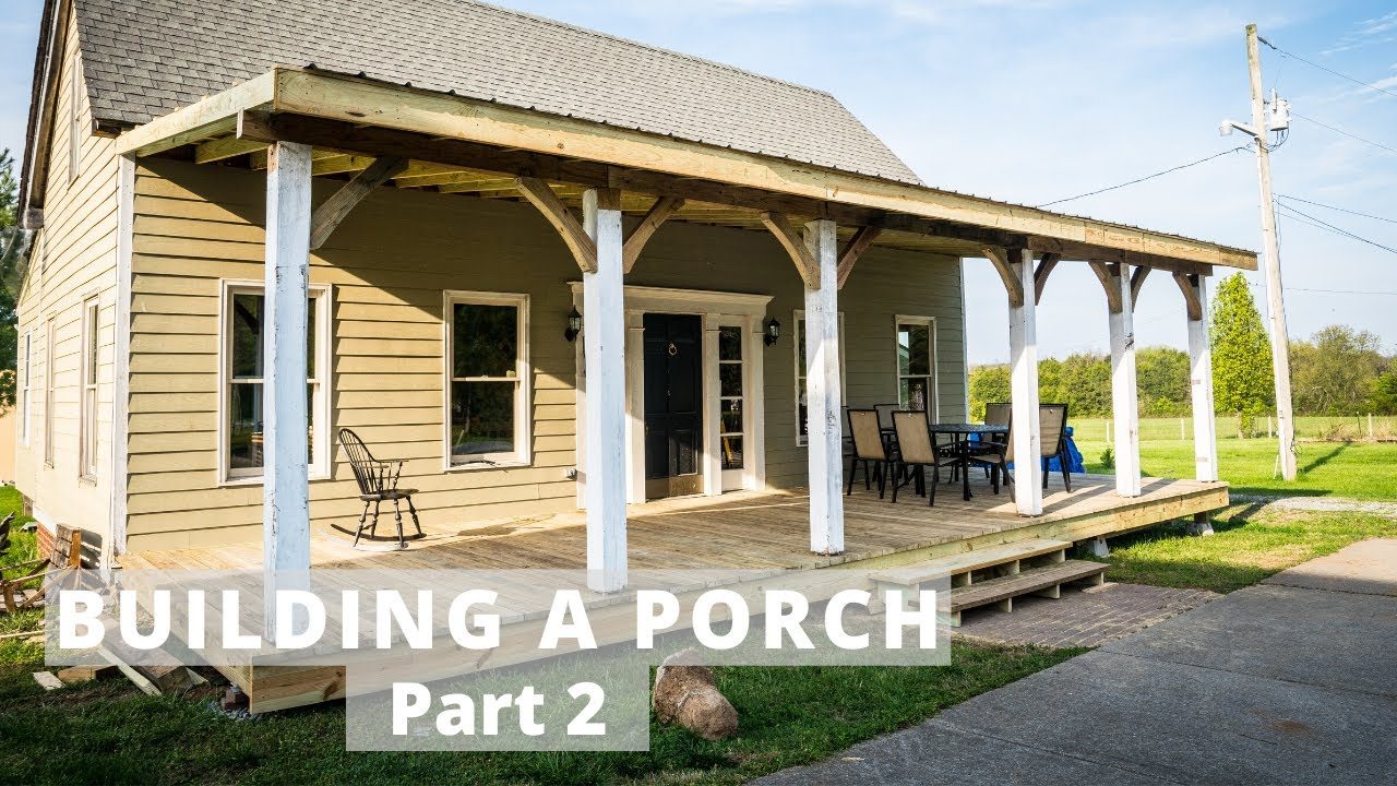building a covered porch