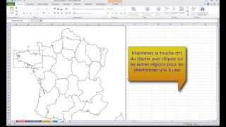 Excel 2010: Comment importer une carte géographique dans Excel?