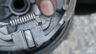 Как заменить тормозные колодки в барабанном тормоз(, 2015-08-08T11:18:58.000Z)