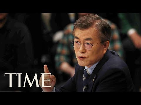 President Of South Korea Talks About Negotiating With North Korea Before G20 In Hamburg | TIME