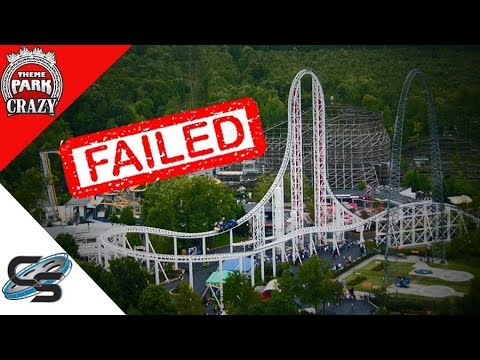 Failed Roller Coasters: Hypersonic XLC at Kings Dominion (Feat. Coaster Studios)