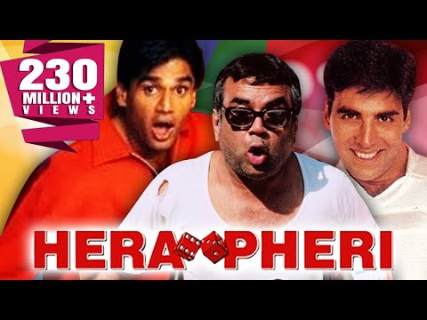 Hera Pheri (2000) Full Hindi Comedy Movie | Akshay Kumar, Sunil Shetty, Paresh Rawal, Tabu from YouTube · Duration:  2 hours 18 minutes 4 seconds