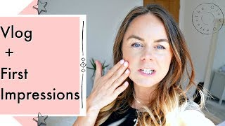 Vlog + First Impressions Jane Iredale + Hush and Dotti