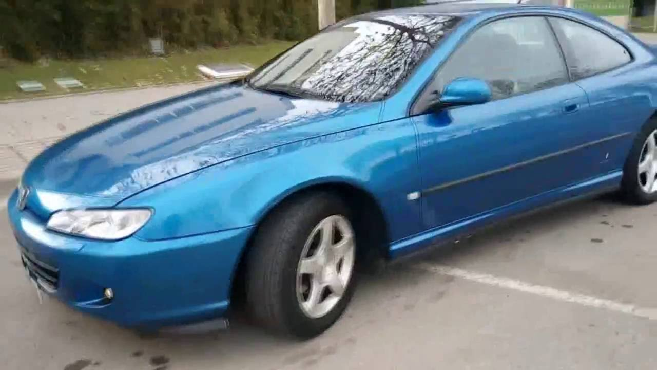 Peugeot 406 coupe ultima edizione 2 2 hdi youtube - Peugeot 406 coupe 2 2 hdi ...