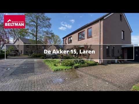 De Akker 15 Laren   Degelijk en ruim wonen!