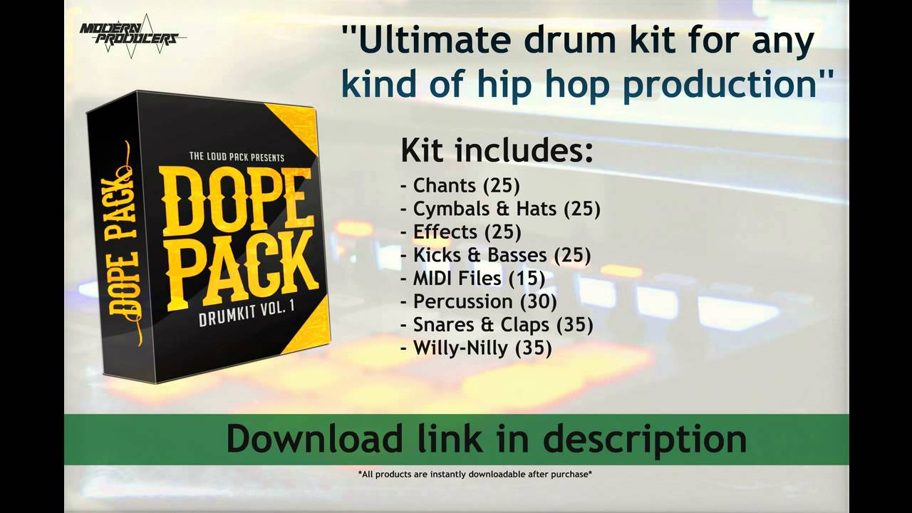 Dope Pack drum kit