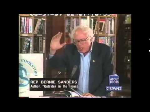 "Bernie Sanders Talks about His Autobiography, ""Outsider in the House"" 1997"