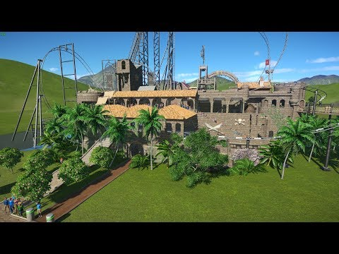 Pirate Loony Turns Coaster - An Uncivil Engineer creation for the Planet Coaster Workshop