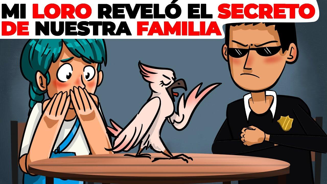 Nuestro loro reveló el secreto de nuestra familia a la policía | Historia Animada acerca de traidor