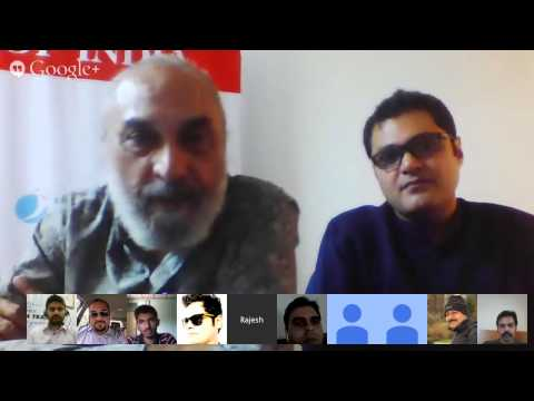 Hangouts On Air With Rajesh Bedi