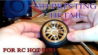 3D printing sleeve on the wheels.