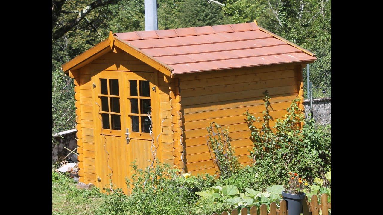 montage abri de jardin la suite le toit en tuile un ex no life bricole