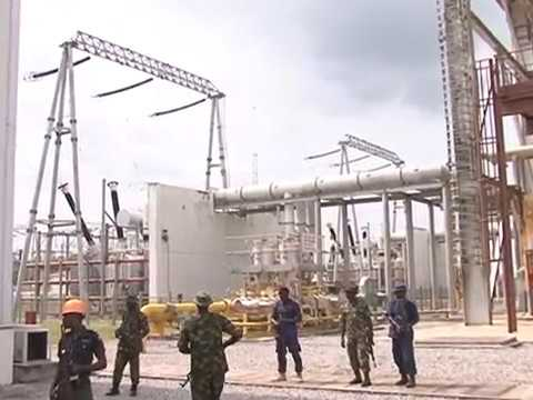 Minister of Power, Babatunde Fashola Visits Omotosho Plant