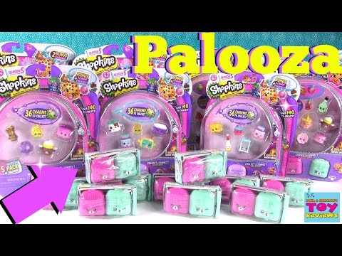 Shopkins PALOOZA Season 5 2 5 12 Packs Limited Edition Hunt | PSToyReviews