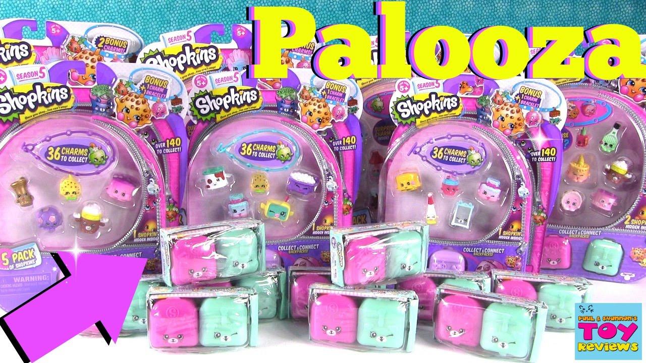 Shopkins PALOOZA Season 5 2 12 Packs Limited Edition Hunt