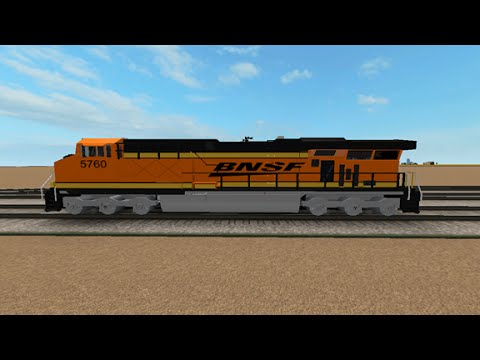 Roblox- The UP/BNSF Railroad