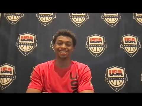 Keldon Johnson named to U.S. men's basketball team for the Tokyo ...