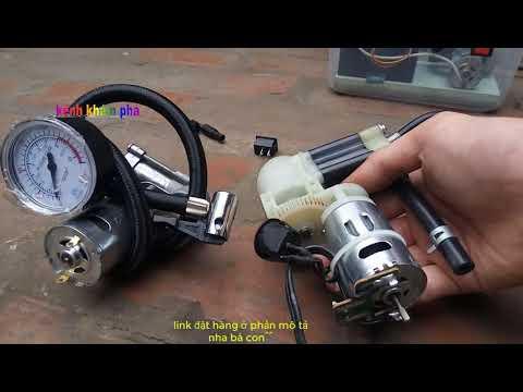 Chế Bơm Xe Mini Cần Mua Những Gì - Video Tư Vấn Mua Hàng Số 06
