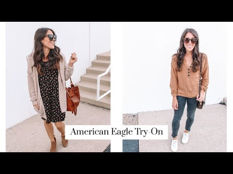 American Eagle Fall Try-On Haul!