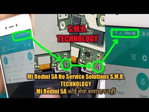 Mi Redmi 5A No Service Solutions S.M.R. TECHNOLOGY