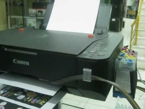 tinta continua canon mp 230 software