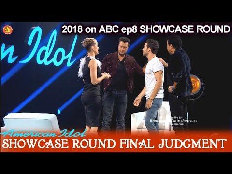 Trevor Holmes Katy tells him  He's ELIMINATED  Showcase Round Final Judgment American Idol 2018