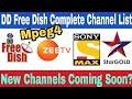DD Free Dish Mpeg4 New Channel List 2018.by pure tech