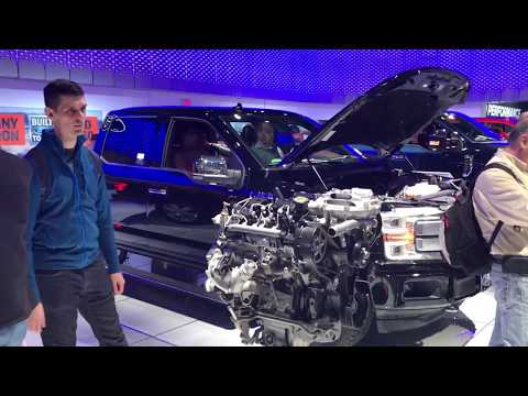 2018 Ford F150 TURBO DIESEL at the Toronto International Auto show