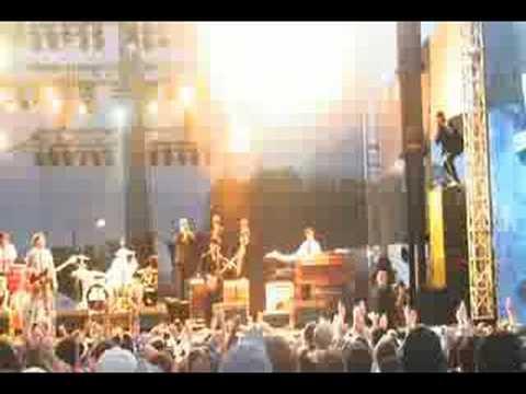 Mark Ronson W/Alex Greenwald @ Lollapalooza '08