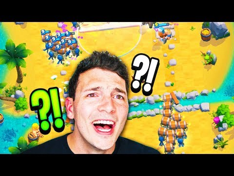 Wall Breaker CHAOS 2v2 With RANDOMS In CLASH ROYALE?!?!
