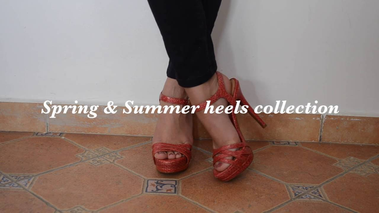Spring & Summer heels collection