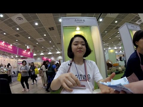Organic Veg Expo and Wandering Around Seoul