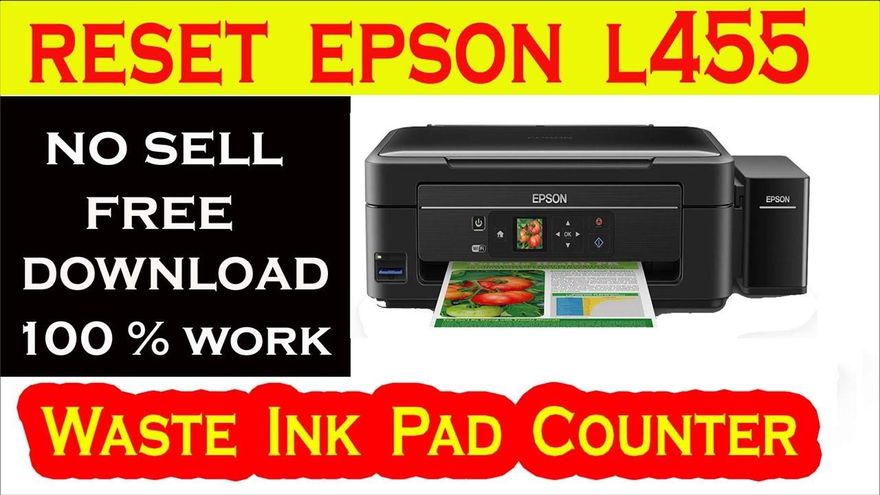 Epson L455 Firmware Update