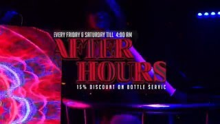 Chill Skybar's Afterhours Party