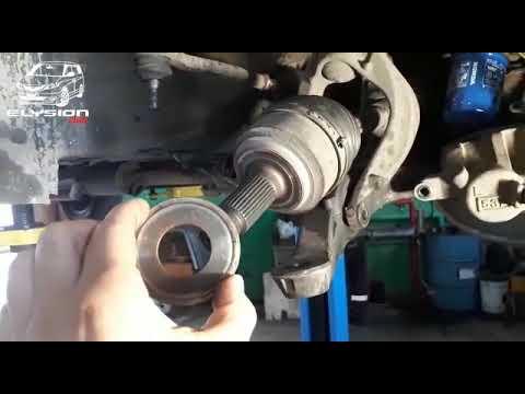 Лечение вибрации приводов Honda Elysion