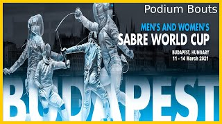 Budapest 2021 Sabre Individual World Cup - Finals