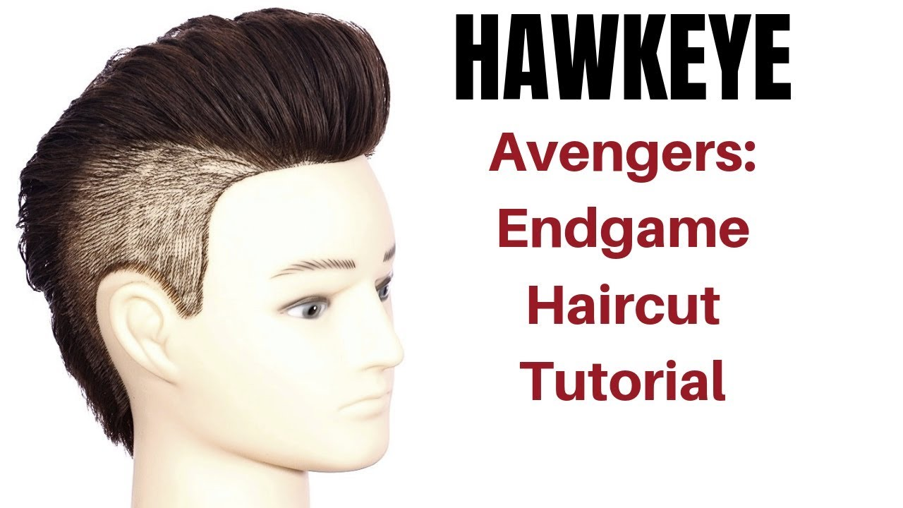 avengers endgame hawkeye haircut tutorial - thesalonguy - youtube
