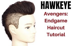 Avengers Endgame Hawkeye Haircut Tutorial - TheSalonGuy