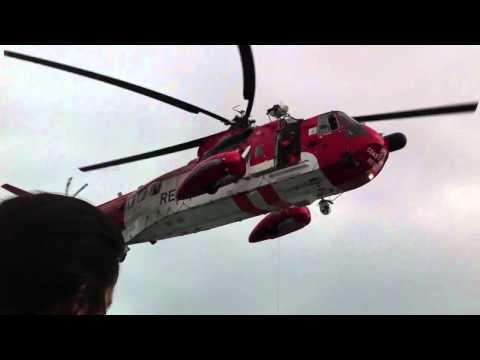 Irish Coast Guard visits Aran Islands Ferry