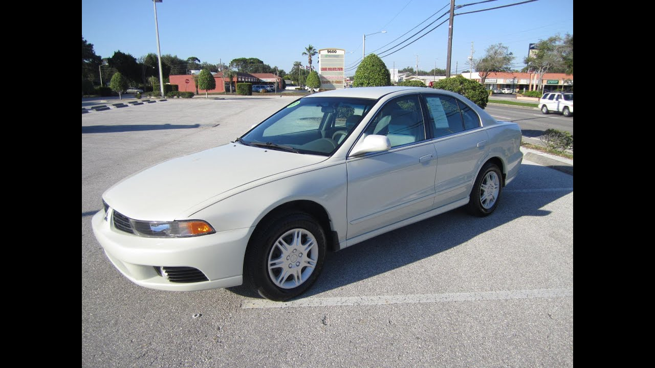Superb SOLD 2003 Mitsubishi Galant ES 74K Miles Meticulous Motors Inc Florida For  Sale   YouTube
