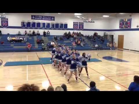Stanley high school cheerleader's Christmas dance