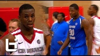 Andrew Wiggins Vs Julius Randle Part 2 Lives Up To The Hype! Overtime Thriller At Peach Jam!