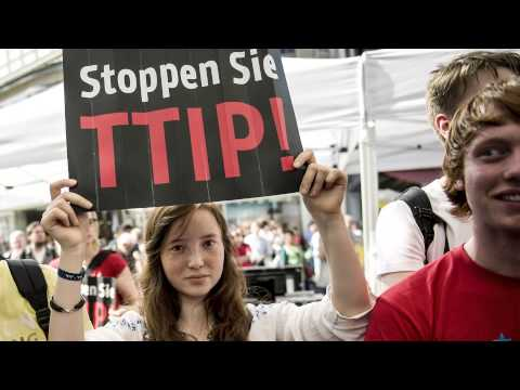 Ganz Europa gegen das Freihandelsabkommen TTIP